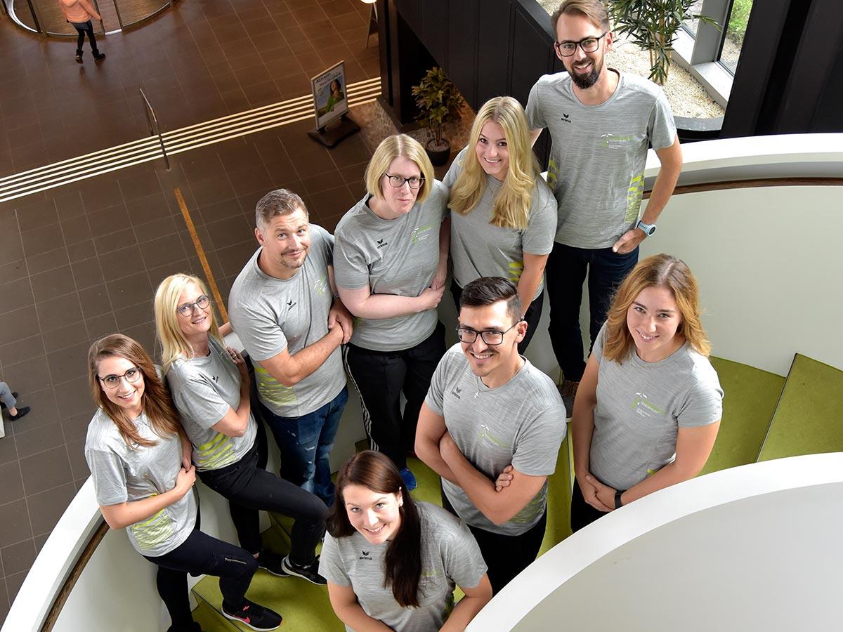 Das Team im Therapiezentrum Schildhauer